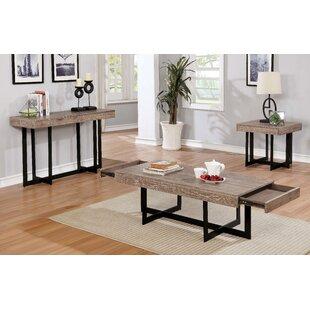 17 Stories Bosco 3 Piece Coffee Table Set