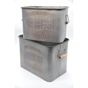 Metal Crates Buckets You Ll Love In 2021 Wayfair Ca