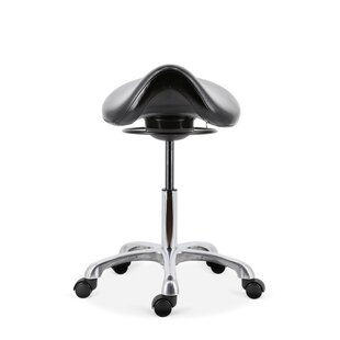 Exchange Height Adjustable Lab Stool by Symple Stuff 2019 Sale