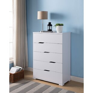 Briaroaks Modern 5 Drawer Dresser