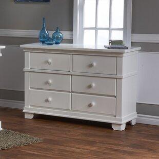 Mallie 6 Drawer Double Dresser