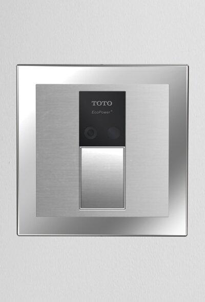 Sensor Toilet Flush Valve Back Spud Wall