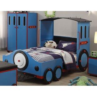 Nala Train Twin Train Bed by Zoomie Kids