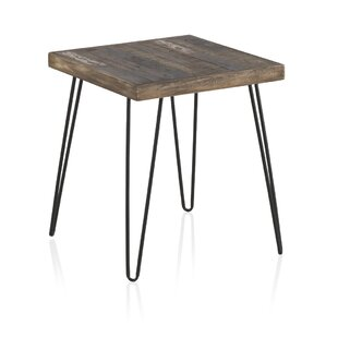Bragdon Recycled Wooden Side Table By Williston Forge