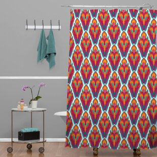 Brindle Rococo Single Shower Curtain by Brayden Studio Wonderful
