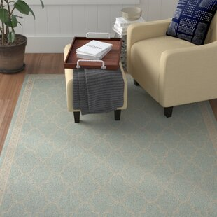 Short Beige Indoor/Outdoor Area Rug