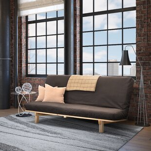 Bifold Bifold Futon Frame by Red Barrel Studio