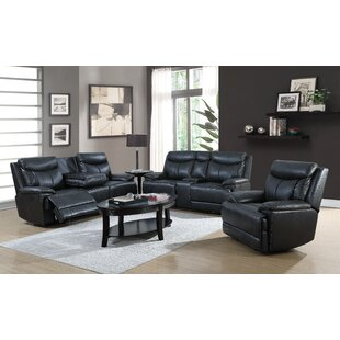 Lovato 3 Piece Reclining Living Room Set