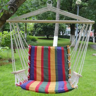 Belle Cotton Hanging Air Chair Hammock by Freeport Park