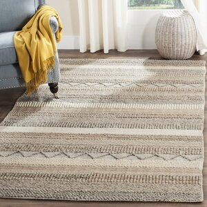 Daytona Beach Hand-Tufted Beige Area Rug