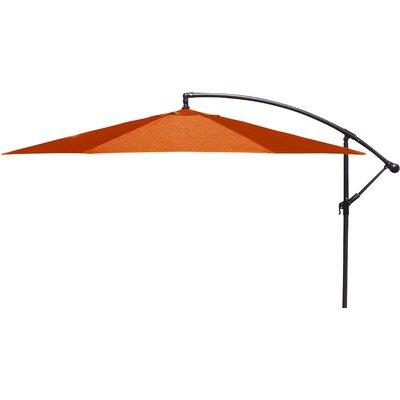 Brayden Studio Trotman 10' Cantilever Umbrella Fabric: Orange