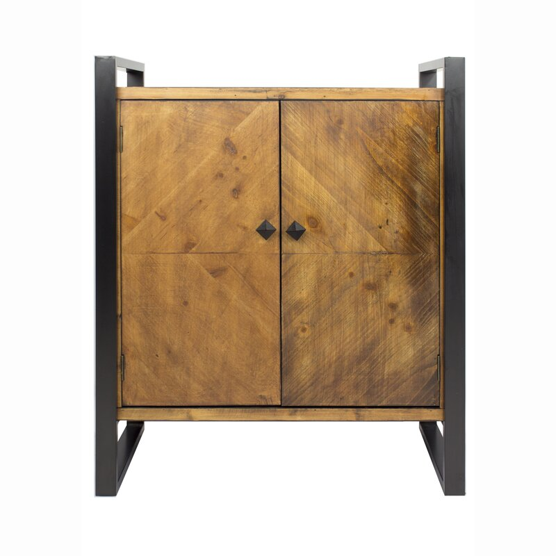 17 Stories  Delphine Sideboard Color: Brown