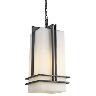 Modena 1-Light Square/Rectangle Pendant by Latitude Run