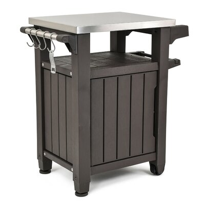 Cambron Bar Serving Cart by Andover Mills