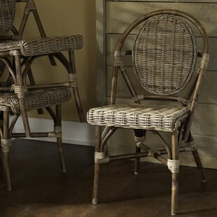 Paris Bistro Stacking Patio Dining Chair (Set of 2)