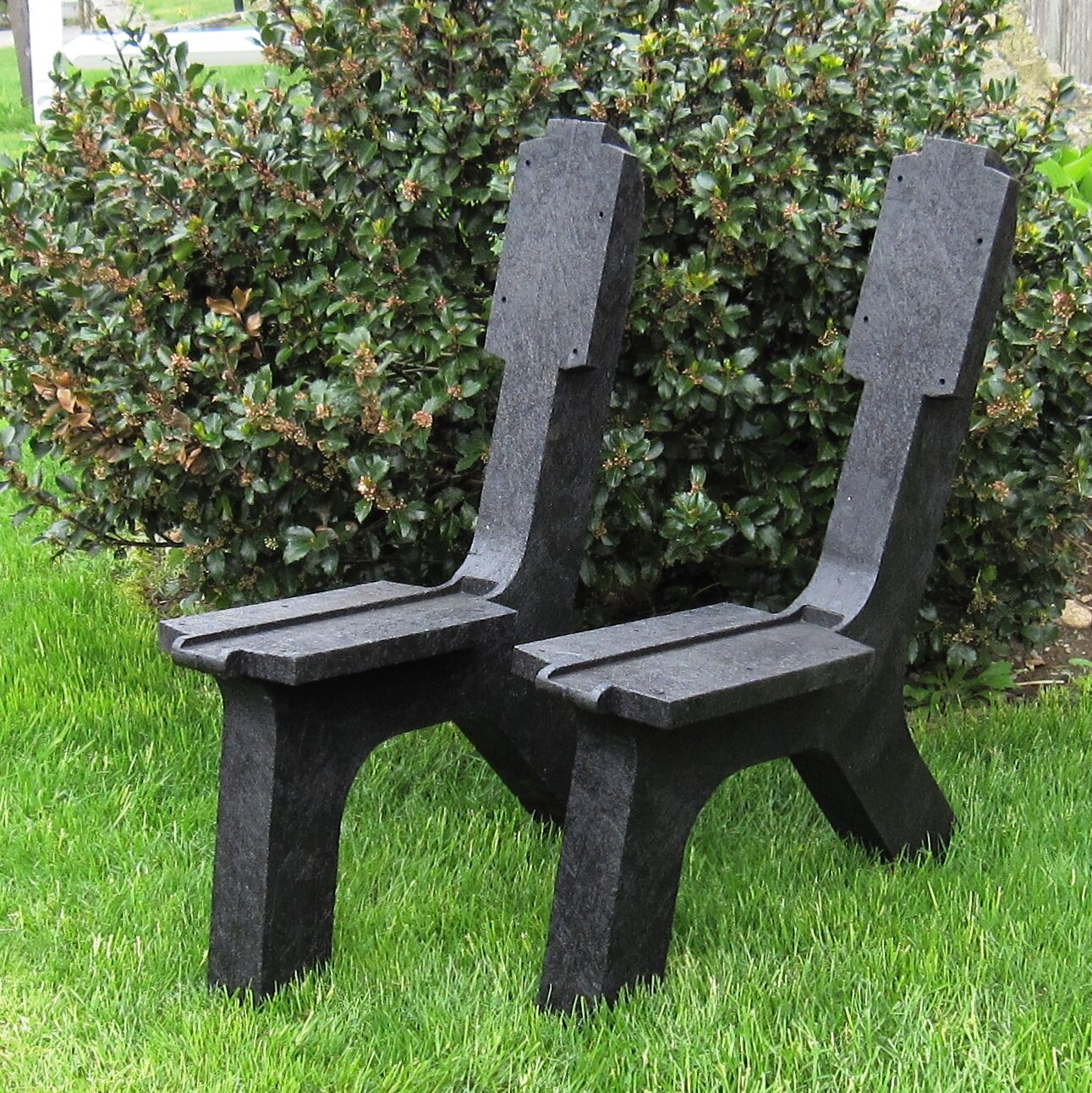 Picture of: Millwood Pines Plainfield Recycled Plastic Garden Bench Wayfair