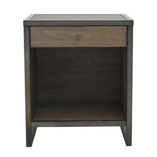 Brayden Studio Feder End Table with Storage