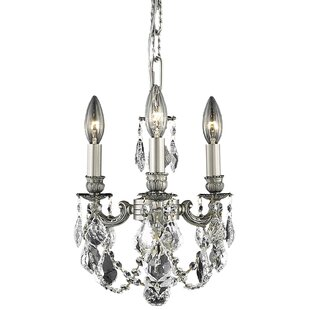 Astoria Grand Downes 3-Light Candle Style Chandelier