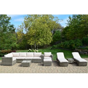 Borneo 11 Piece Sectional Set with Cushions