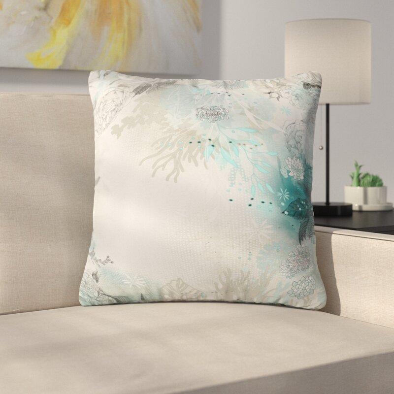 East Urban Home Seafoam Throw Pillow Reviews Wayfair Extraordinary Seafoam Decorative Pillows