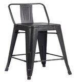 Brigham 24 Bar Stool (Set of 2) by Williston Forge