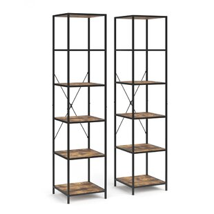 Review Fyrk Bookcase (Set Of 2)