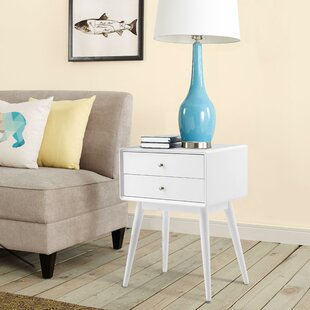 Best Reviews Stephanie End Table with Storage By Elle Decor