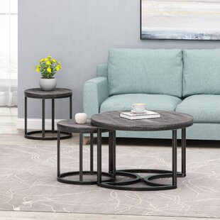 Gerrish 3 Piece Coffee Table Set By 17 Stories