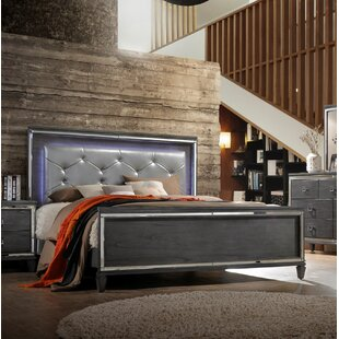 Ezio Upholstered Panel Bed