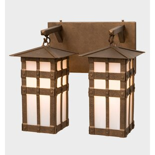 Behr 2-Light Outdoor Wall Lantern by Loon..