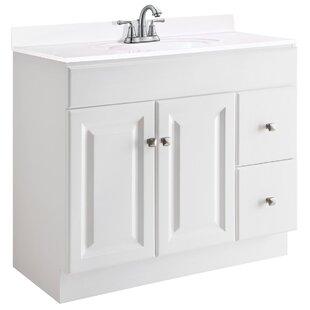 Wyndham 36 Single Bathroom Vanity Base by Design House