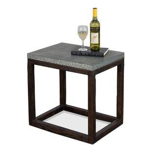 Brayden Studio Handover Chocolate End Table