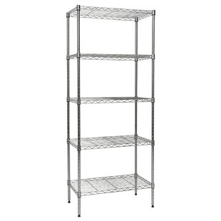 5-Shelf Wire Shelving 60
