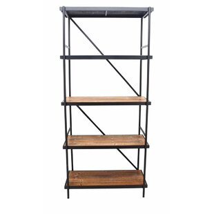 Sylvie 5-Tier Etagere Bookcase 17 Stories