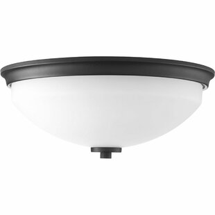 Knouse 2-Light Flush Mount by Zipcode Design