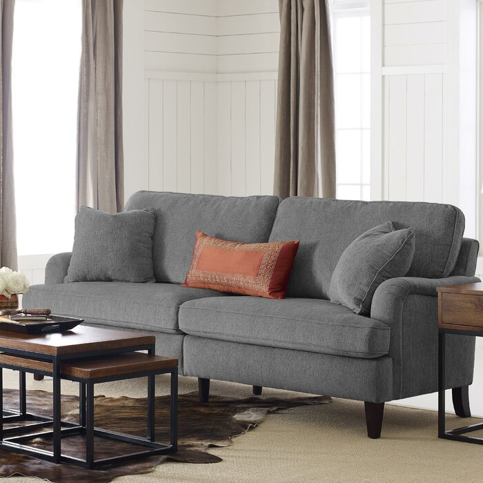 Carlisle 78 Sofa With Pleated Arms