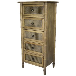 Wallace 5 Drawer Accent Chest