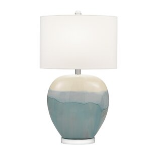 Colletti Ceramic Rounded Urn 31 Table Lamp