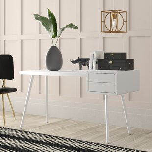 Fava 2 Drawer Writing Desk by Mercury Row Cool
