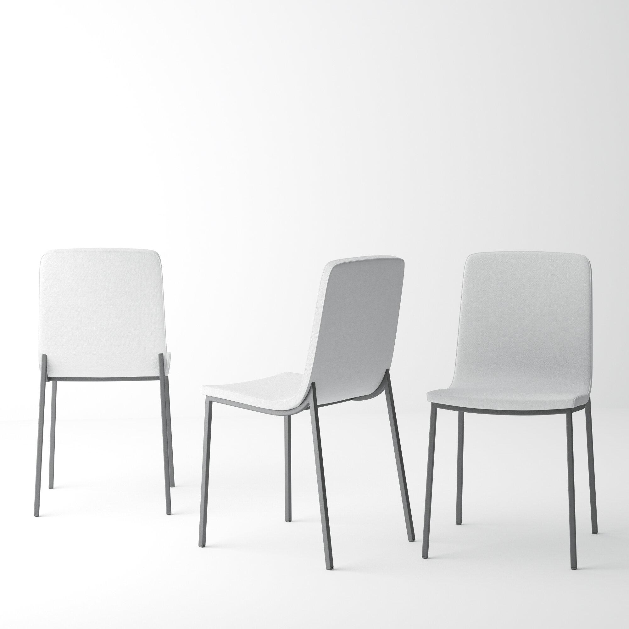 Foundry Select Avenir Upholstered Dining Chair & Reviews | Wayfair