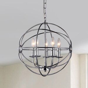 Aidee 5-Light Globe Pendant
