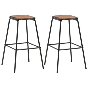 Russel 76cm Bar Stool (Set Of 2) By Williston Forge