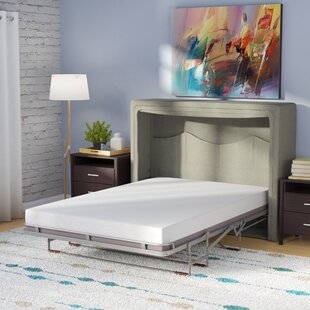 Price Check Sue Full/Double Upholstered Murphy Bed with Mattress by Latitude Run Reviews (2019) & Buyer's Guide