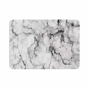 Marble No 2 Modern Memory Foam Bath Rug by East Urban Home Spacial Price