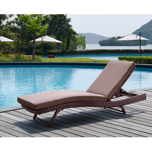 Prudence Reclining Sun Lounger Set with Cushions (Set of 4)