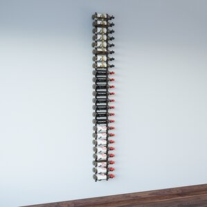 Wall Series 48 Bottle Wall Mounted Wine Bottle Rack by VintageView