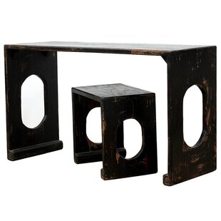 Zither 2 Piece Nesting Table Set