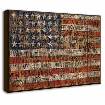 Old Glory Giclée Wall Art - Patriotic Wall Decor