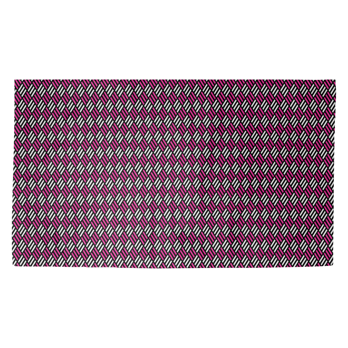 Latitude Run Avicia Stripe Diamonds Purple Area Rug Wayfair