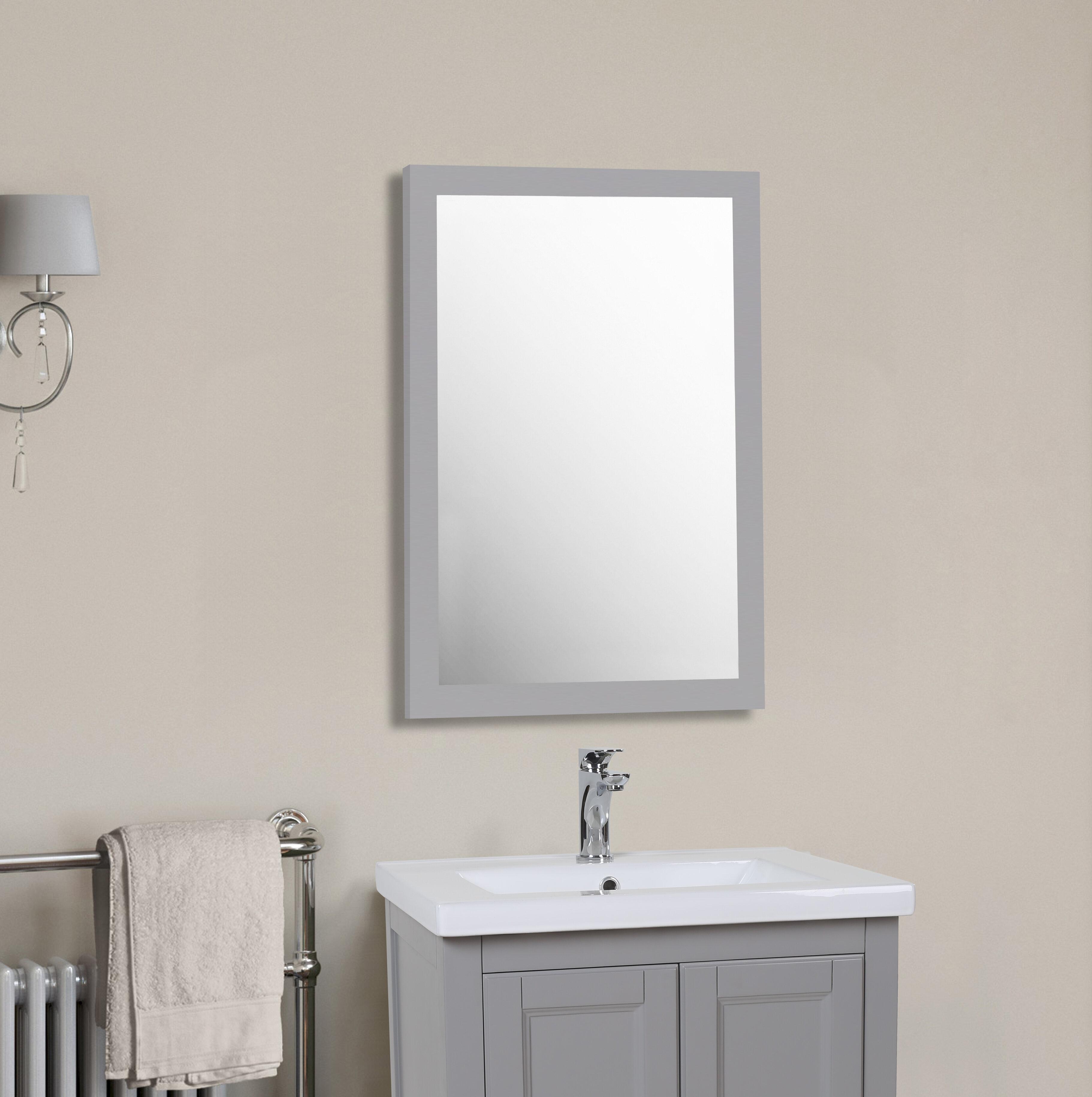 Winston Porter Cota Modern Contemporary Bathroom Vanity Mirror Reviews Wayfair